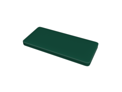 Forest Green Bench Pads
