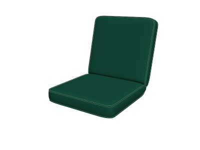 Forest Green Chair Pads