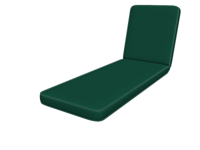Forest Green Chaise Pads