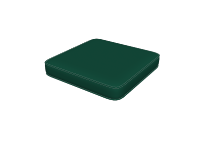 Forest Green Ottoman Pads