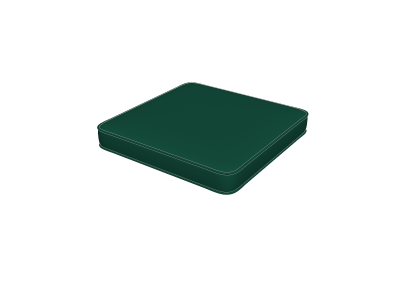 Forest Green Seat Pads