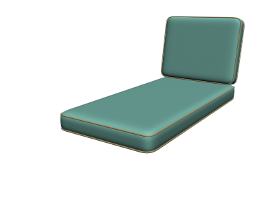 Deep Seating Chaise Cushions
