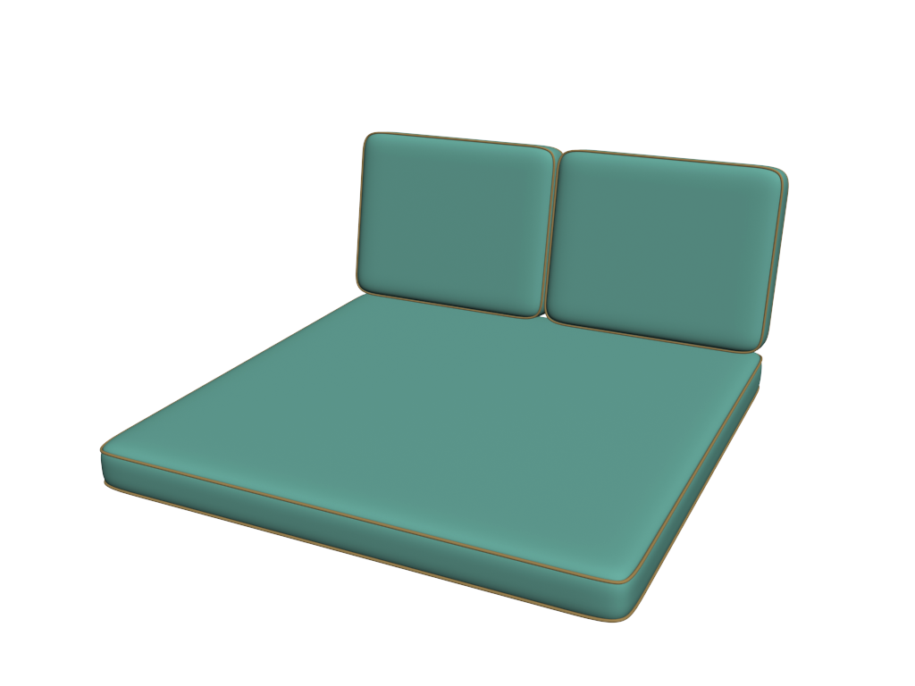 Double Chaise Cushions