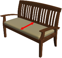 Bench Cushion Depth