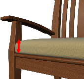 Bench Cushion Thickness