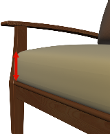 Chaise Cushion Thickness