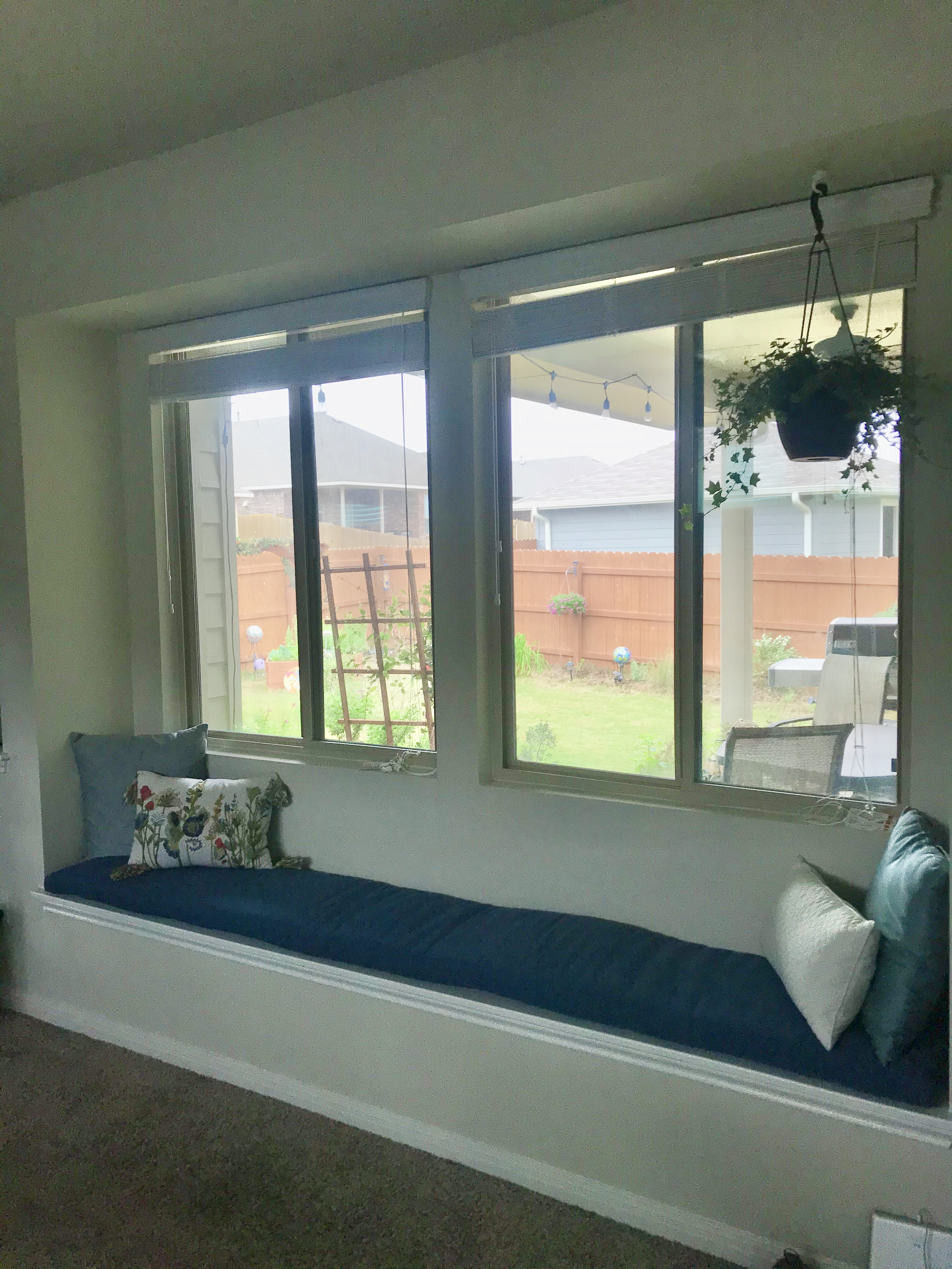 Love Our New Bedroom Window Seat Cushion